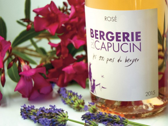 100 Pas du berger, new rose wine!