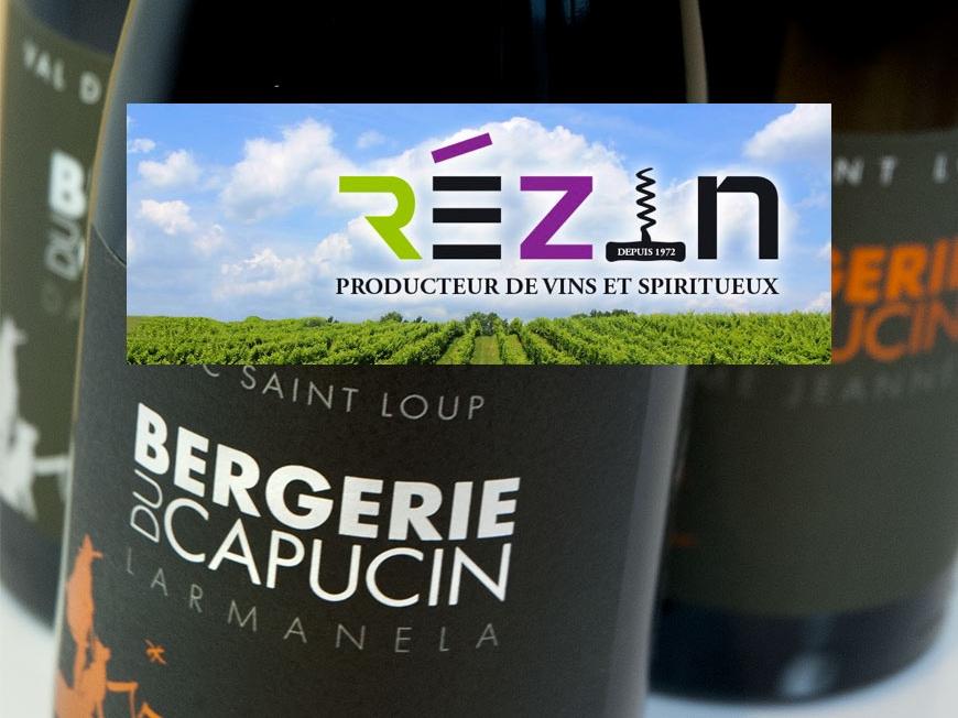 REZIN wine fair show in Nice