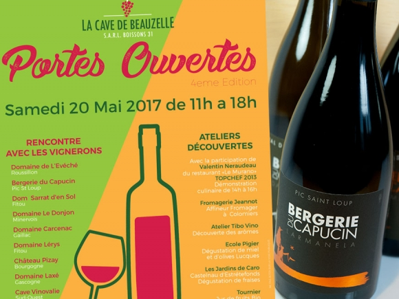 Saturday 20 May 2017 - Tasting at the Beauzelle Cellar