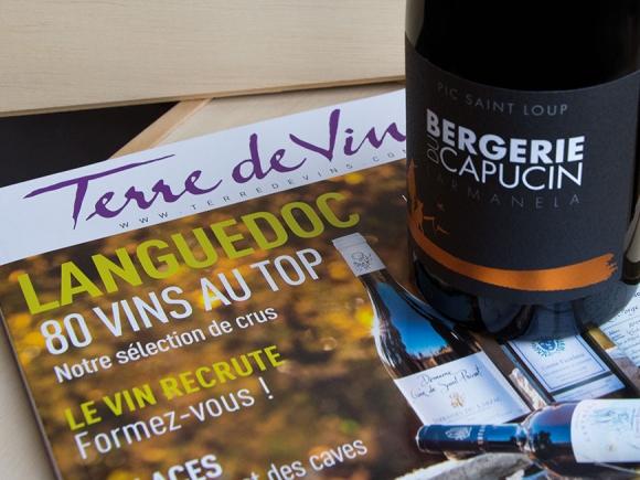 Larmanela 2015 selected by newspaper Terre de Vins